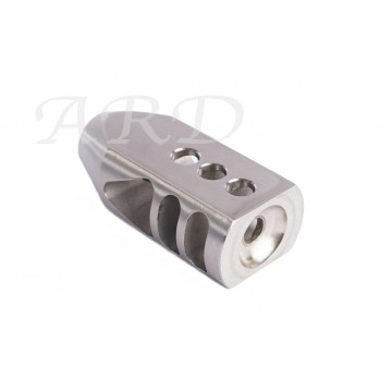 AR15 ARD STAINLESS BIG MOUTH JR. MUZZLE BRAKE 5.56/223  #VO16