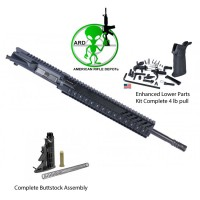 ARD AR15 COMPLETE KIT  UPPER 16 INCH LPK AND BUTTSTOCK ASSEMBLY  #NS650KIT