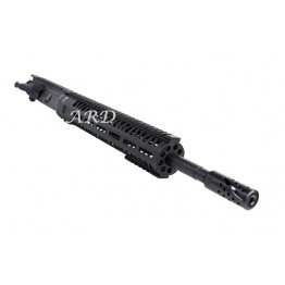 "ARD AR15 M LOCK  SOCOM STAINLESS IN BLACK  UPPER 16"" #PB162"