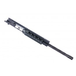 "ARD AR15 STAINLESS SPIRAL FLUTED IN BLACK  UPPER 16"" #SPTB053"