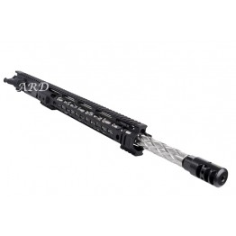 ARD AR15 5.56 STAINLESS DIAMOND FLUTED BULL UPPER 20 INCH #DDM20