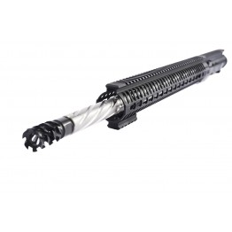 "ARD AR15 5.56 STAINLESS SPIRAL BULL THREADED BULL UPPER 20"" #ODS66"