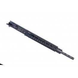 ARD AR15 5.56 STAINLESS SPIRAL IN BLACK BULL COMPLETE UPPER 20 INCH #SB03