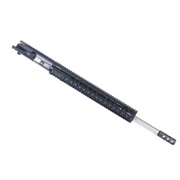 "ARD AR15 5.56 STAINLESS STR. FLUTED BULL THREADED BULL UPPER 20"" #SS20"