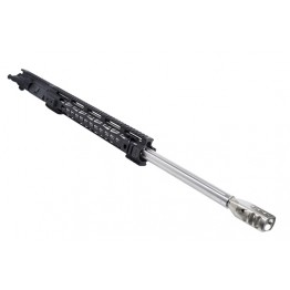 "ARD AR15 5.56 STAINLESS STR. FLUTED THREADED BULL UPPER 24"" #VT55"