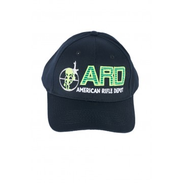 ARD HAT ONE SIZE FITS ALL ALIEN WITH AR15 #ARDHAT1