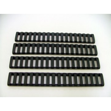 ARD Rubber ladder Rail Guard with Flexible Adjustment 4 PACK BLACK #BL007