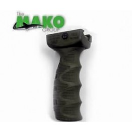 THE MAKO GROUP TACTICAL RUBBER OVERMOLDED ERGONOMIC FOREGRIP  OD-GREEN #REGO