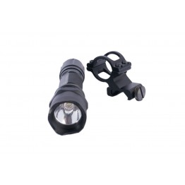 ARD TACTICAL 45 DEGREE 220 LUMEN FLASHLIGHT WITH STROBE AND SOS STROBE  #ML22