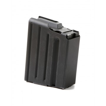 ACS LR-308 STAINLESS IN BLACK 10RD MAG #1408
