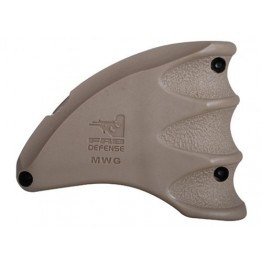 Mako Group Magazine  well grip for AR-15 TAN #MWGT