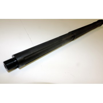 "ARD LR 308 STAINLESS STR. FLUTED  IN BLACK  BULL 1-10 TWIST BARREL 20 "" #SRB308"