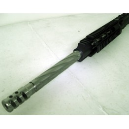"ARD  LR-308 STAINLESS SPIRAL BULL THREADED UPPER COMPLET WITH BCG & CH. HANDLE 20"" #SR308"