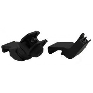 45 DEGREE SIGHTS Low Profile Flip Up Front and Rear  Sight Set  #AR45