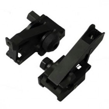 Low Profile Flip Up Front and Rear  Sight Set  #DP20