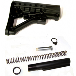 6-position ButtStock assembly - Black  #BT71