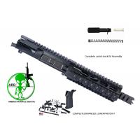 ARD AR15 5.56 PISTOL UPPER CARBINE SHARK 7.5  inch w/ enhanced Lower parts kit 4 lb pull ,Pistol buffer tube full kit #CS88