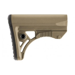 6-position Butt Stock - FDE  #MS-T