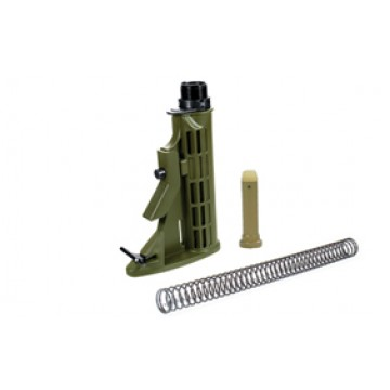 BUTTSTOCK 6-position Assembly KIT OD GREEN #D5992