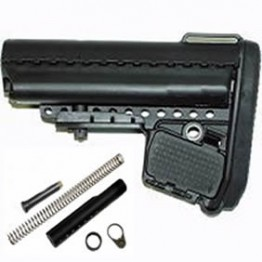 Professional 6-position  Stock Assembly Black #TS55