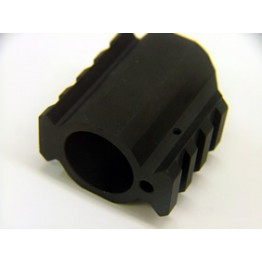 ARD GAS BLOCK WITH PICATINNY RAIL 9.36  #0221